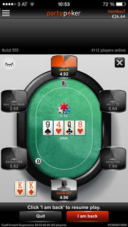 PartyPoker Fast Forward