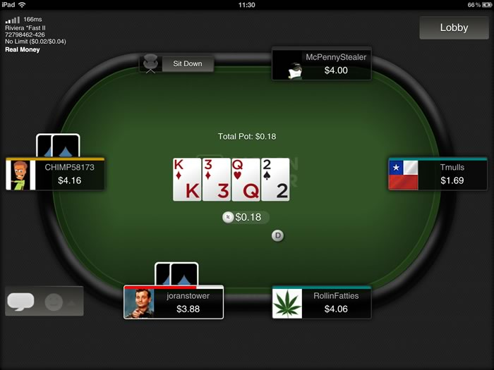Carbon Poker Android Poker App - Android Poker Apps