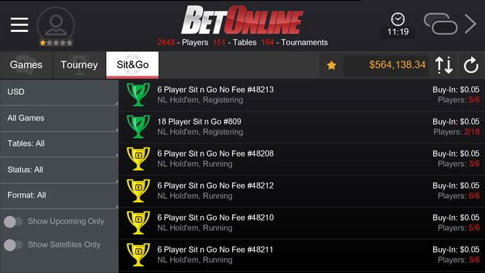 Mobile betonline poker winning at gambling