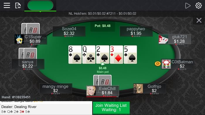 BetOnline Mobile Poker App (Accepts U S  Players) - Android Poker Apps