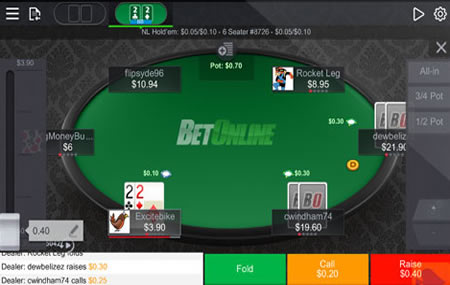 BetOnline Android Poker Client